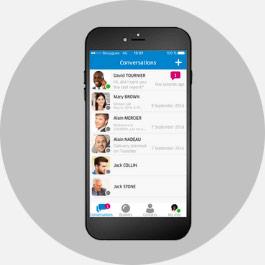 NEXACOM et Alcatel Lucent - ligne fixe sur smartphone