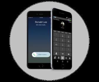 NEXACOM - application smartphone 3CX